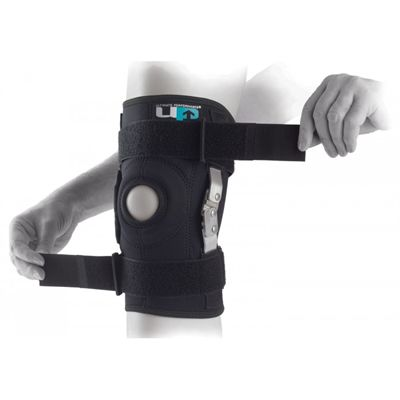 Ultimate Performance Hinged Knee Brace-In Use