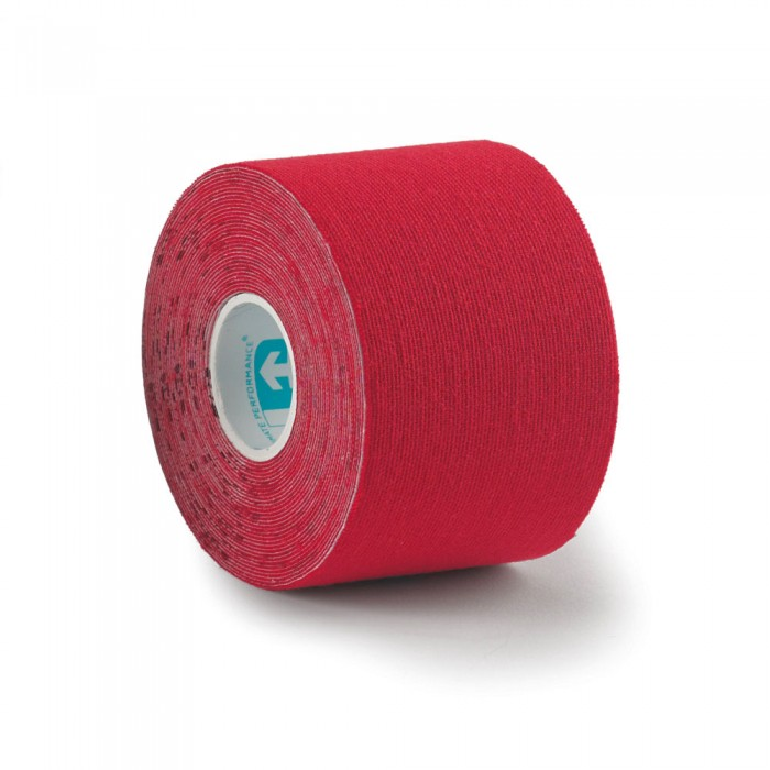 Ultimate Performance Kinesiology 5m Precut Tape Roll - Red