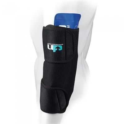 Ultimate Performance Medium Hot and Cold Therapy Compression Wrap-In Use