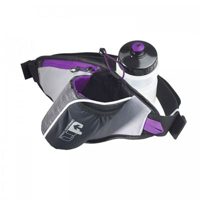 Ultimate Performance Ribble Water Bottle Belt-650ml bottle included-Purple