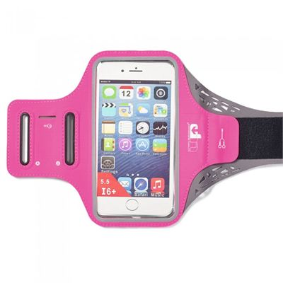 Ultimate Performance Ridgeway Phone Holder Armband - Pink