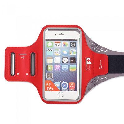 Ultimate Performance Ridgeway Phone Holder Armband - Red