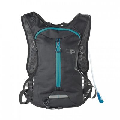 Ultimate Performance Tarn Performance 1.5l Hydration Backpack -Black-Blue-Front