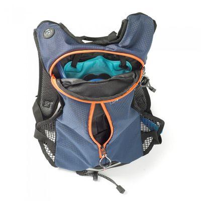 Ultimate Performance Tarn Performance 1.5l Hydration Backpack -Blue-Orange-Open
