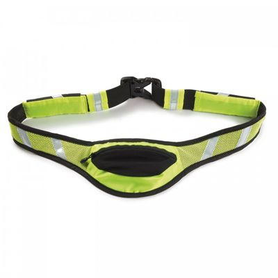 Ultimate Performance White Scar High-Visibilty Running Belt