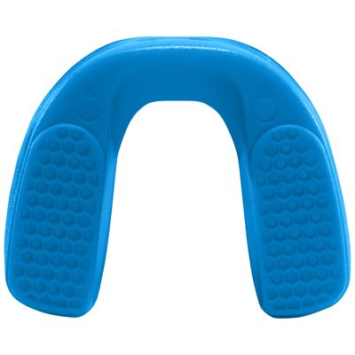 UA ArmourFit Mouthguard Strapless Youth-Blue-Bottom View