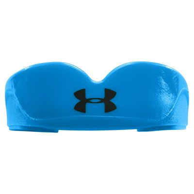 UA ArmourFit Mouthguard Strapless Youth-Blue-Front View