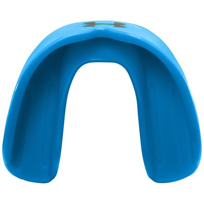 UA ArmourFit Mouthguard Strapless Youth-Blue-Top View