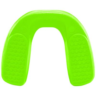 UA ArmourFit Mouthguard Strapless Youth-Green-Bottom View
