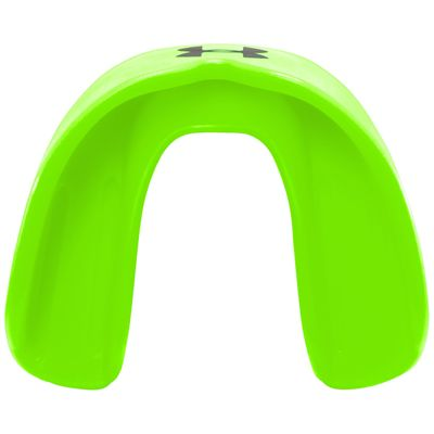 UA ArmourFit Mouthguard Strapless Youth-Green-Top View
