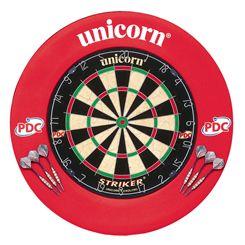 Unicorn Striker Dartboard and Surround Home Darts Centre