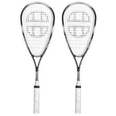 Unsquashable DSP 3500 C4 Ti Squash Racket Double Pack