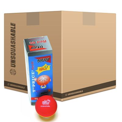 Unsquashable Fundation Mini Squash Balls - 6 DozenUnsquashable Fundation Mini Squash Balls - 6 Dozen