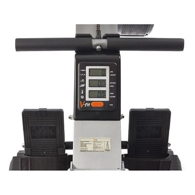 V-fit AR1 Artemis II Rowing Machine Console View