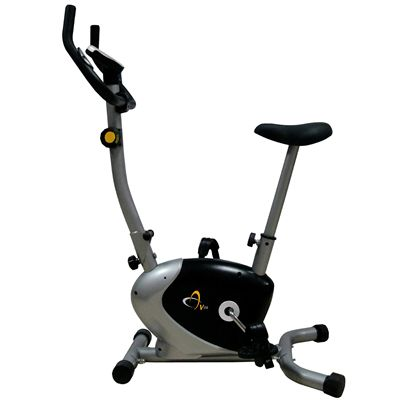 V-fit FMTC2 Folding Upright Magnetic Cycle Side View