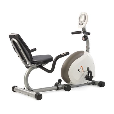 V-fit G Series RC Recumbent Magnetic Exercise Bike-Angled
