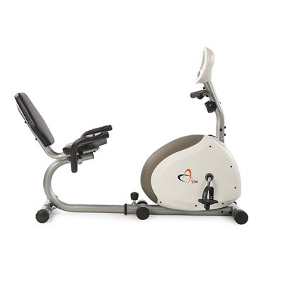 V-fit G Series RC Recumbent Magnetic Exercise Bike-Side
