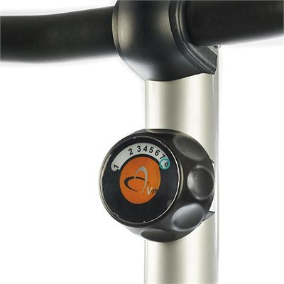 V-fit G Series UC Upright Magnetic Exercise Bike - Knob