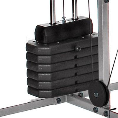 V-fit Herculean Cobra Lay Flat Multi Gym - Weights