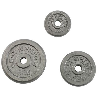 V-Fit Herculean Deluxe 50kg Cast Iron Weight Set - Plates