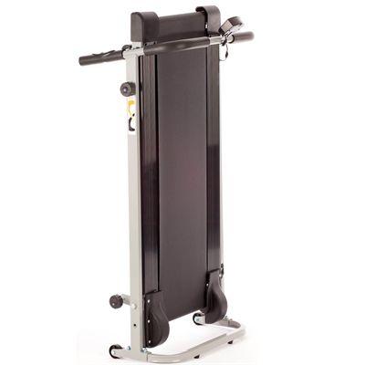 V-Fit MTT1 Manual Folding Treadmill - Folded