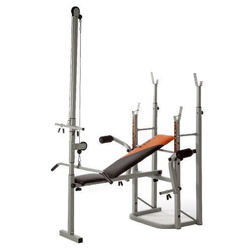 V Fit STB09 4 Folding Weight Training Bench