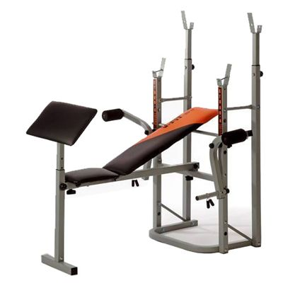 V-Fit STB 09-4 Folding Weight Bench-Preacher