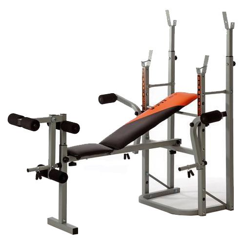 V Fit Stb 09 4 Folding Weight Training Bench