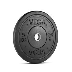 Vega Rubber Crumb Bumper Olympic Weight Plate - 1 x 5kg
