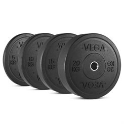 Vega Rubber Crumb Bumper Olympic Weight Plate