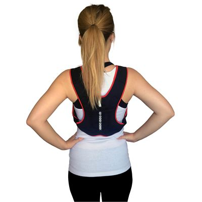 Viavito 2.5kg Weighted Vest-Back View