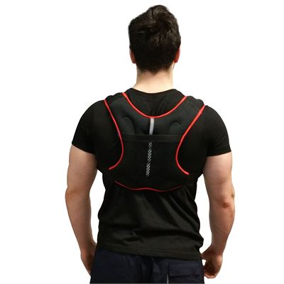 Viavito 2.5kg Weighted Vest - Main - Back