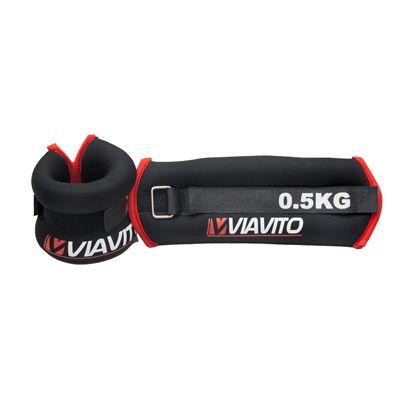 Viavito 2 x 0.5kg Wrist Weights - Image 2