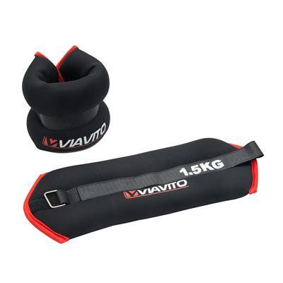 Viavito 2 x 1.5kg Wrist Weights - Image 1