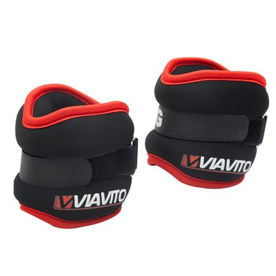Viavito 2 x 1kg Ankle Weights - Alternative View