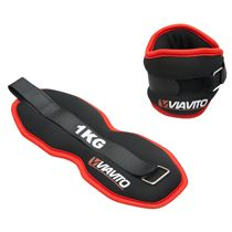 Viavito 2 x 1kg Ankle Weights