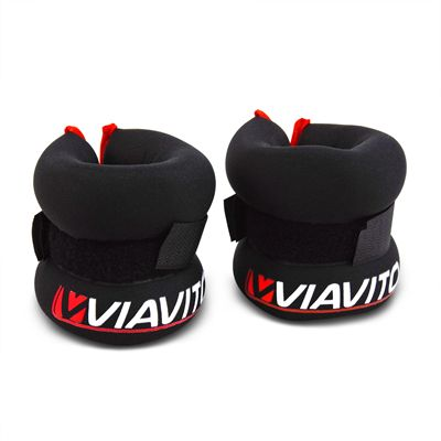 iavito 2 x 1kg Wrist Weights - Rolled