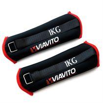 Viavito 2 x 1kg Wrist Weights