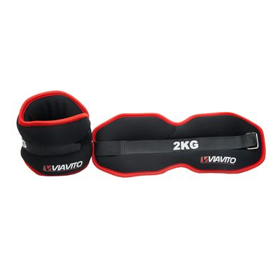 Viavito 2 x 2kg Ankle Weights - Image 3
