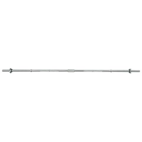 Viavito 5ft Standard Chrome Barbell Bar with Spinlock Collars