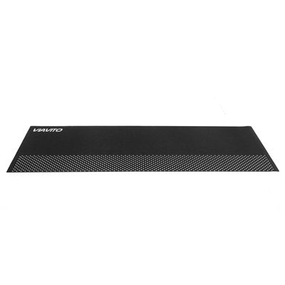 Viavito 6mm Yoga Mat with Carry Strap - Black