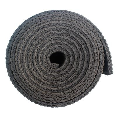 Viavito 6mm Yoga Mat with Carry Strap - Grey - Side