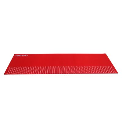 Viavito 6mm Yoga Mat with Carry Strap - Red