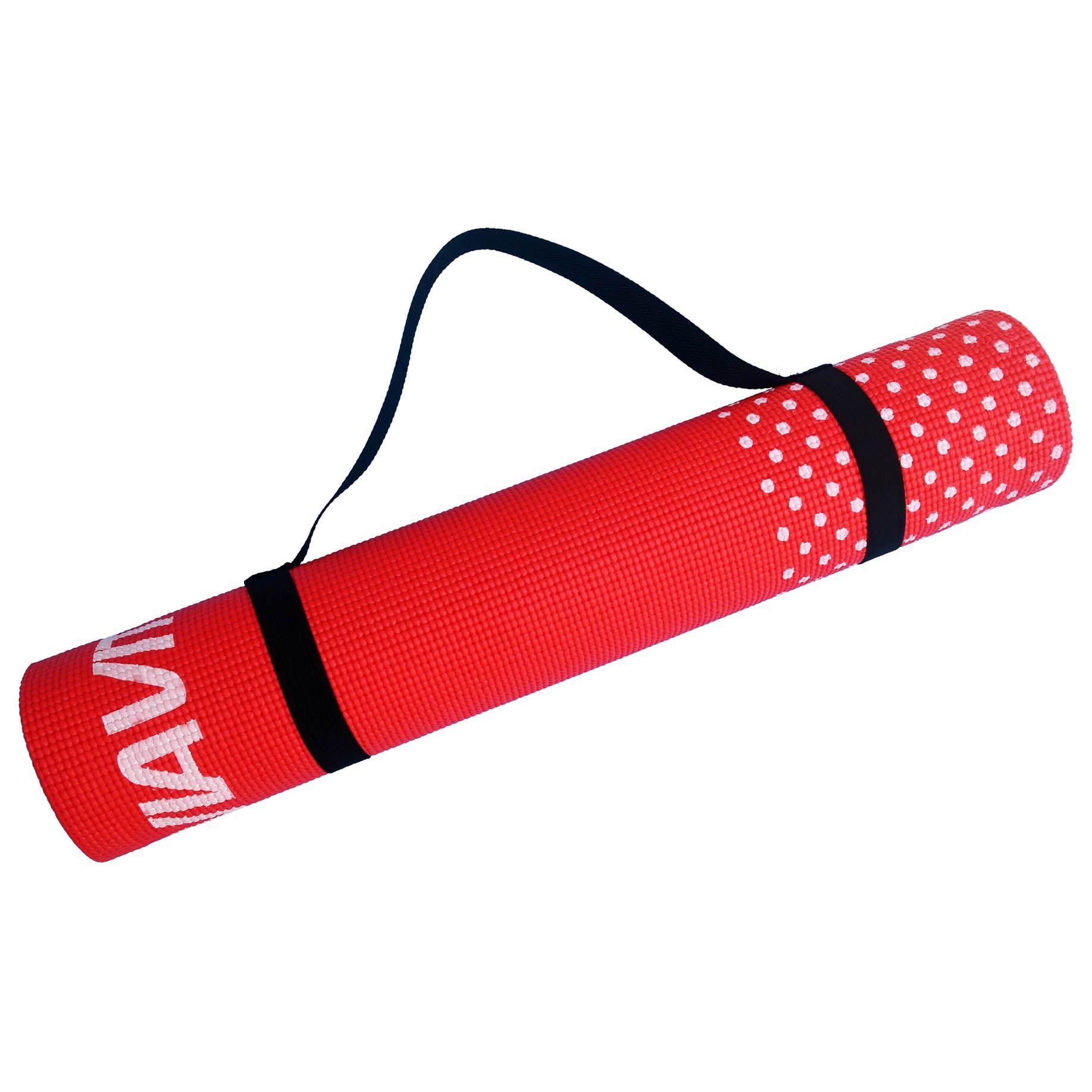 Viavito Leviato 6mm Yoga Mat With Carry Strap