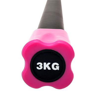 Viavito Aerobic Weighted Bar - 3kg - Front