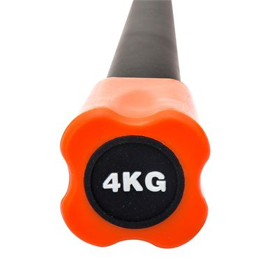 Viavito Aerobic Weighted Bar - 4kg - Front