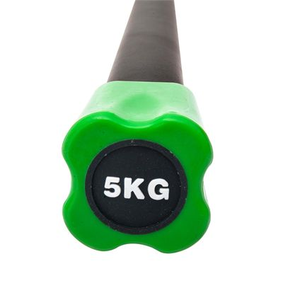 Viavito Aerobic Weighted Bar - 5kg - Front