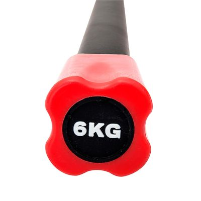 Viavito Aerobic Weighted Bar - 6kg - Front