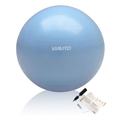 Viavito Anti-burst Gym Ball 65cm - Blue