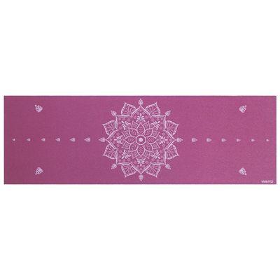 Viavito Asuryama 4mm Yoga Mat - Aubergine - Above